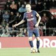 El Barça se asegura la primera plaza en un partido discreto