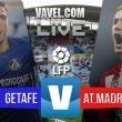 En vivo: Getafe vs Atlético de Madrid 2016 en Primera División online (0-1)