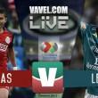 Chivas vs León en vivo y en directo online en Liga MX 2016 (0-0)