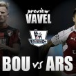 AFC Bournemouth - Arsenal: diferentes perspectivas