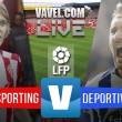 Sporting vs Deportivo en vivo y en directo online