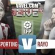 En vivo: Sporting de Gijón vs Rayo Vallecano 2016 online en Primera División