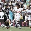 Ceará e São Paulo fazem jogo morno e empatam sem gols no Castelão
