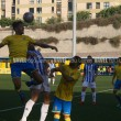 El juego del Recre apareció en Gran Canarias una hora tarde