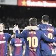 El Barça no pone el freno