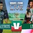 Cafetaleros sorprende al León en Copa MX
