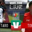 Resultado y goles del partido Querétaro 0-2 Toluca en Liga MX 2018