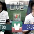 Santos vs Cruz Azul EN VIVO online en Liga MX 2018
