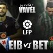Eibar - Real Betis: A por la penúltima función