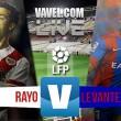 El Rayo y el Levante se despiden de Primera