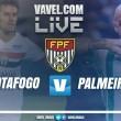 Resultado Botafogo-SP x Palmeiras pelo Campeonato Paulista 2018 (0-1)
