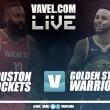 Partido Houston Rockets vs Golden State Warriors en vivo y en directo online en NBA 2018