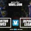 Previa Alavés - Leganés: a por la segunda victoria consecutiva