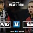 Previa Juventus - Genoa: vuelta a la rutina