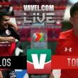 Resultado y goles Toluca 4-1 Xolos Tijuana (5-3 global) en Liga MX 2018