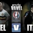 Bélgica – Italia: aspiración contra tradición