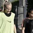 Fotos e imágenes del entrenamiento del Barça femenino previo al enfrentamiento contra el Sevilla