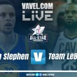 Resumen NBA All-Star 2018 en vivo: Team LeBron vs Team Stephen en directo online (148-145)