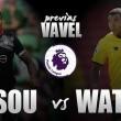 Previa Southampton - Watford: se abre el telón