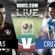 Cruz Azul rescata el empate en el Jalisco