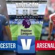Leicester 0-0 Arsenal: mucho ruido y pocos goles