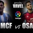 Málaga CF - CA Osasuna: objetivos distintos, misma ilusión.