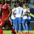 El Málaga puso el talento y los goles, Nigeria el corazón