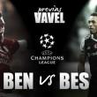 Previa SL Benfica – Besiktas: duelo de águilas en el da Luz