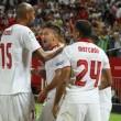 Sevilla FC - RCD Espanyol: puntuaciones del Sevilla, jornada 1 de la Liga Santander
