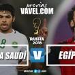 Eliminados, Arábia Saudita e Egito se despedem da Copa do Mundo