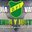 Guía Defensa y Justicia VAVEL 2016/17
