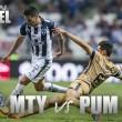 Previa Monterrey - Pumas: A recuperar las buenas sensaciones