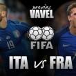 Previa Italia - Francia: a seguir la línea con las ideas claras