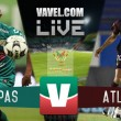 Jaguares Chiapas vs Atlante en vivo online en Copa MX (0-0)