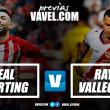 Previa Sporting de Gijón - Rayo Vallecano: Duelo por todo lo alto en El Molinón Enrique Castro 'Quini'