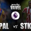 Crystal Palace - Stoke City: no valen despistes