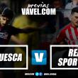 Previa Huesca-Sporting: ganar para coger confianza