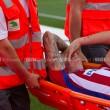 Giménez, lesión muscular en el abductor de la pierna derecha