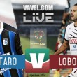 Partido Querétaro vs Lobos BUAP en vivo online en Copa MX Apertura 2016 (0-0)