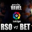 Previa Real Sociedad - Real Betis: mirar hacia la clase alta