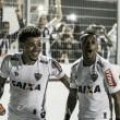 Robinho comemora classificação 'com cara de Galo' na Copa do Brasil