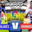 Errores y naufragio del Granada CF contra el Alavés