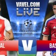 Walcott's double hands Gunners win over Basel