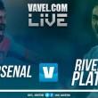 Arsenal vs River Plate en vivo y en directo online en Superliga 2018