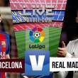 Jogo Barcelona x Real Madrid ao vivo online no Clássico Espanhol (0-0)