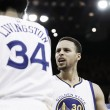 A falta de Curry, bueno es Livingston