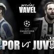 Previa Porto - Juventus: La 'Vecchia Signora' tratará de domar al dragón