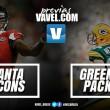 Em partida com destaques ofensivos, Falcons e Packers decidem título da NFC