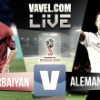 Partido Azerbaiyán vs Alemania en vivo y en directo online en Clasificación Mundial Rusia 2018