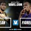 Em confronto direto pela Europa League, Milan e Fiorentina medem forças no San Siro